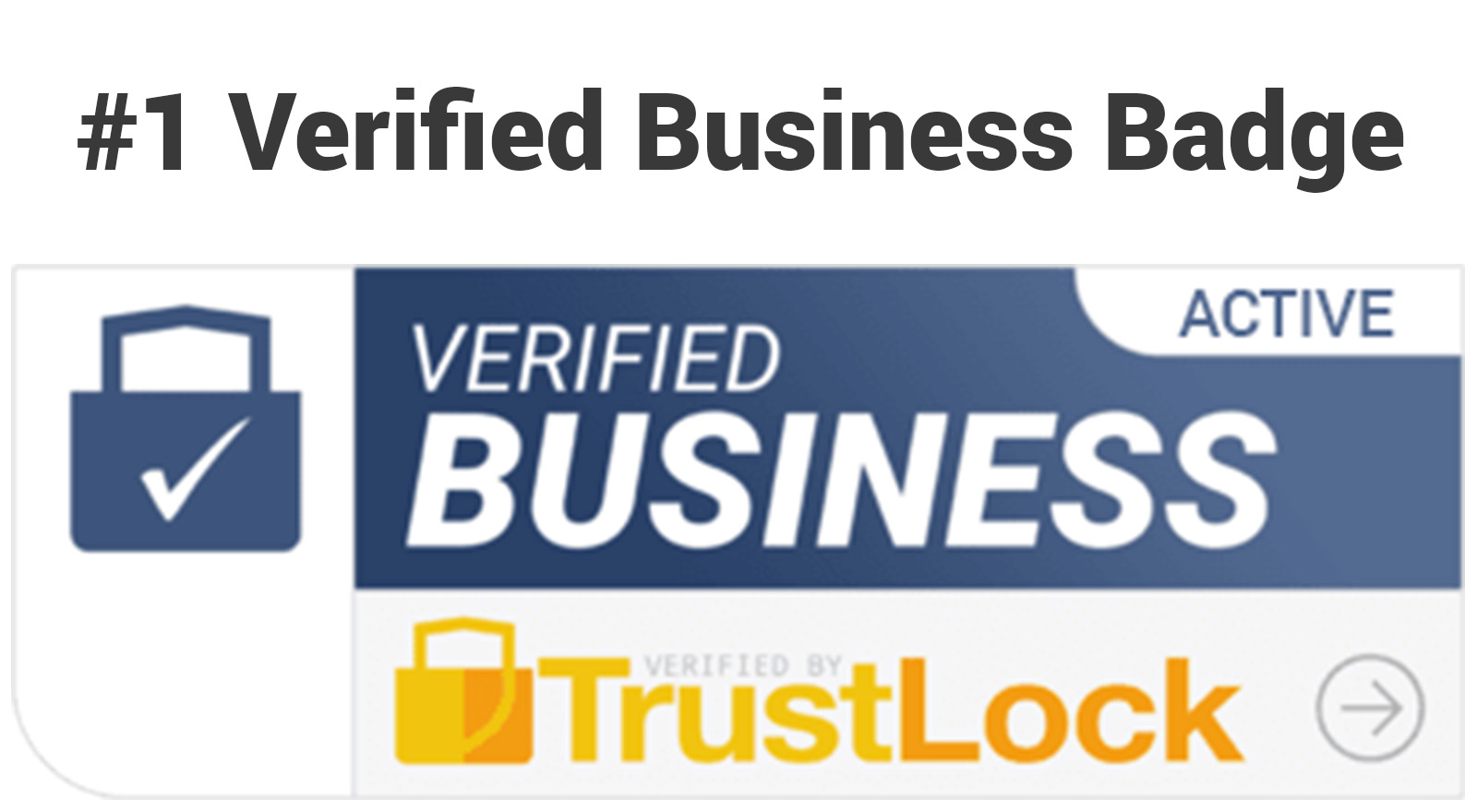 Verified Business Trust Badge - Trust Lock